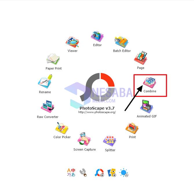Cara Menggabungkan File JPG dengan Photoscape