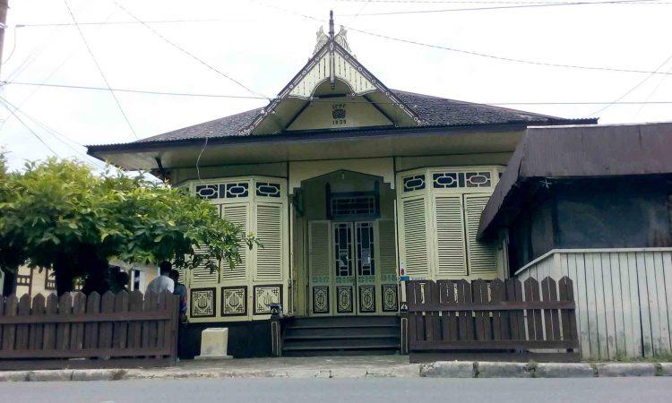 63 Gambar Rumah Adat Palembang Gratis