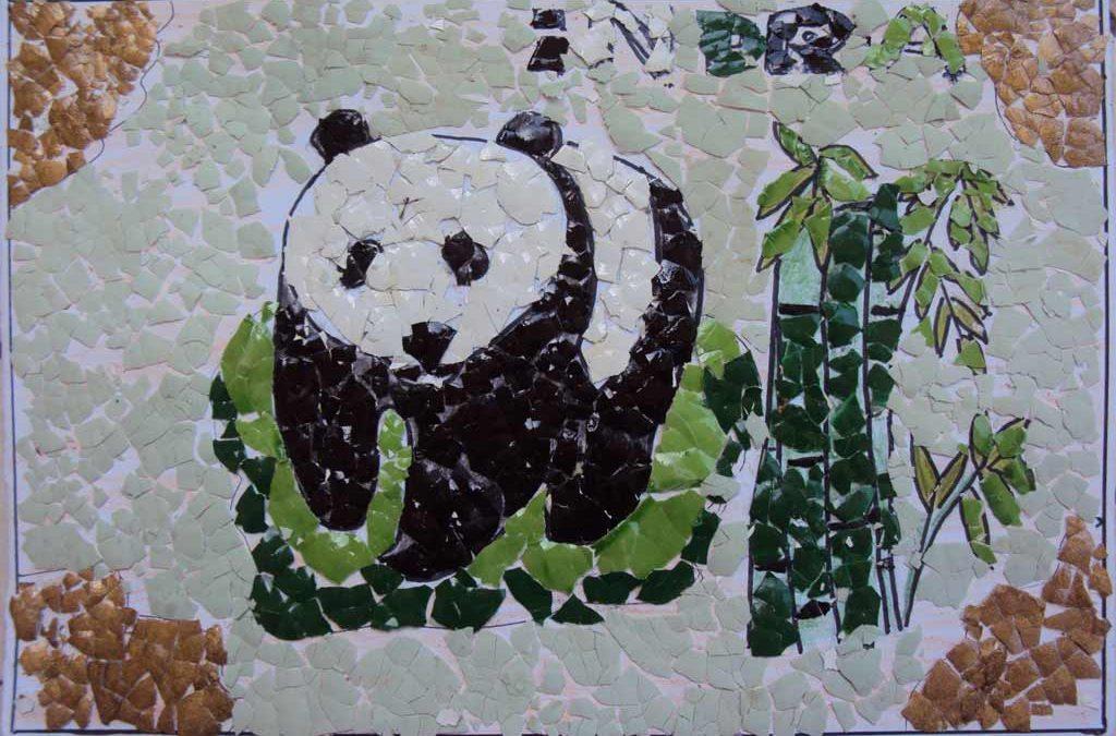 Contoh Seni Rupa 2 Dimensi Seni Mozaik