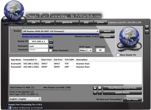 Download Simple Port Forwarding Terbaru