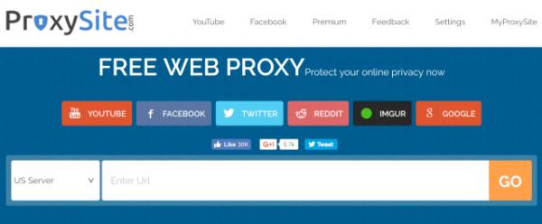 Situs Web Proxy Proxysite