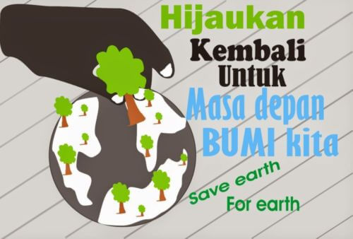 Example Poster Image about the Environment