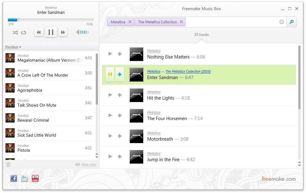 Download Freemake Music Box