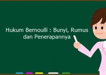 Hukum Bernoulli