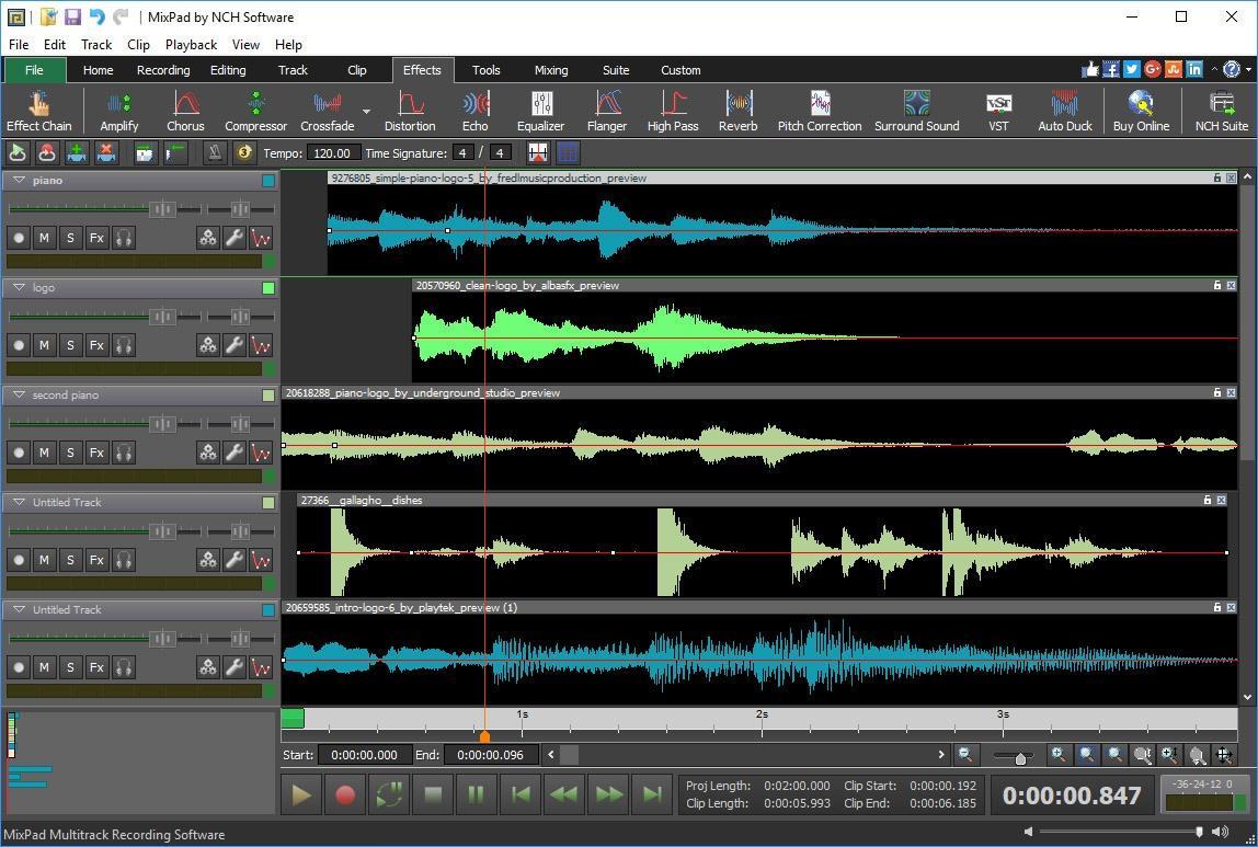 Download Mixpad Terbaru