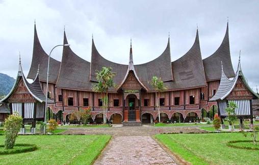 Traditional House of West Sumatra (Rumah Gadang)