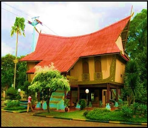 Susunan rumah atau struktur bangunan