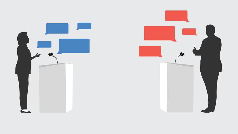 Ciri-ciri Debat dan struktunya