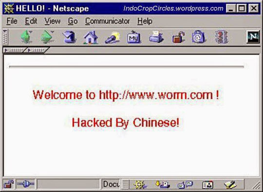 The Most Dangerous Computer Virus Code Red