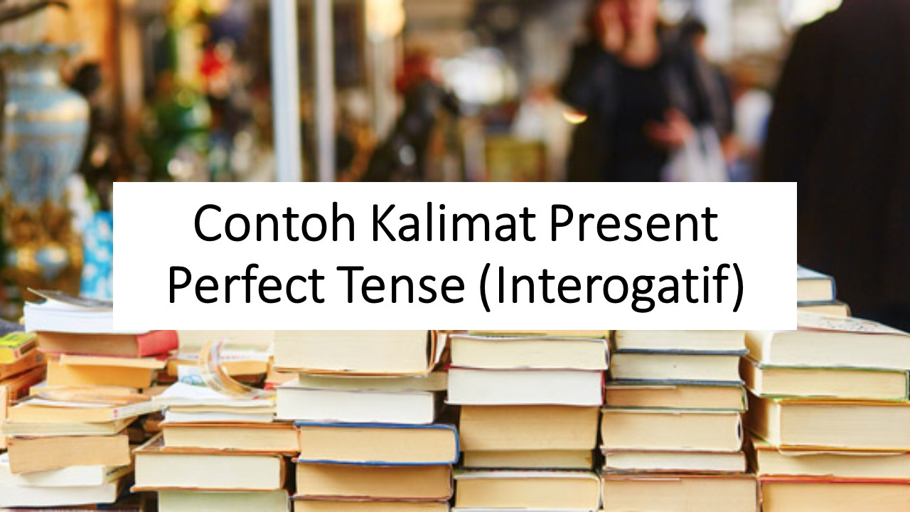 Contoh Kalimat Present Perfect Tense Interogatif