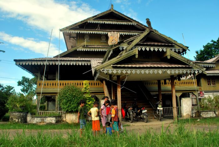 Traditional House of Southeast Sulawesi Baton