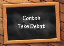 Contoh Teks Debat