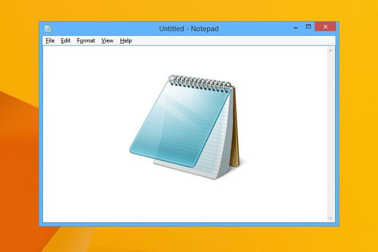 Pengertian Notepad pada Windows