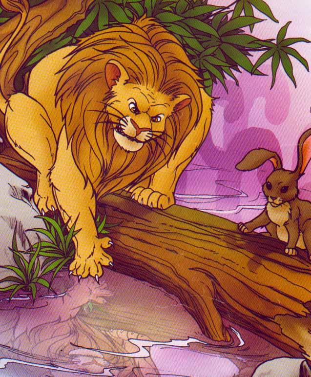 Contoh Cerita Jenaka (Singa Bodoh dan Kelinci Pintar)