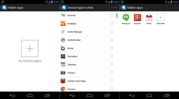 Aplikasi Penyembunyi Aplikasi untuk Android