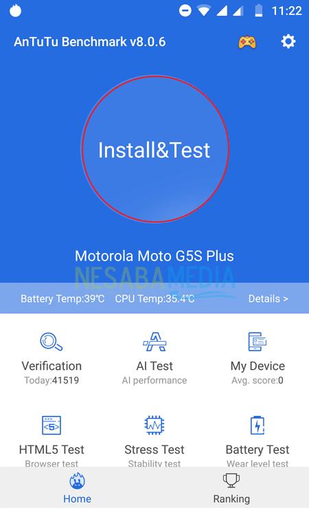 Cara Cek Skor AnTuTu Android 7