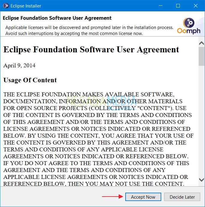 Instalasi Eclipse 3