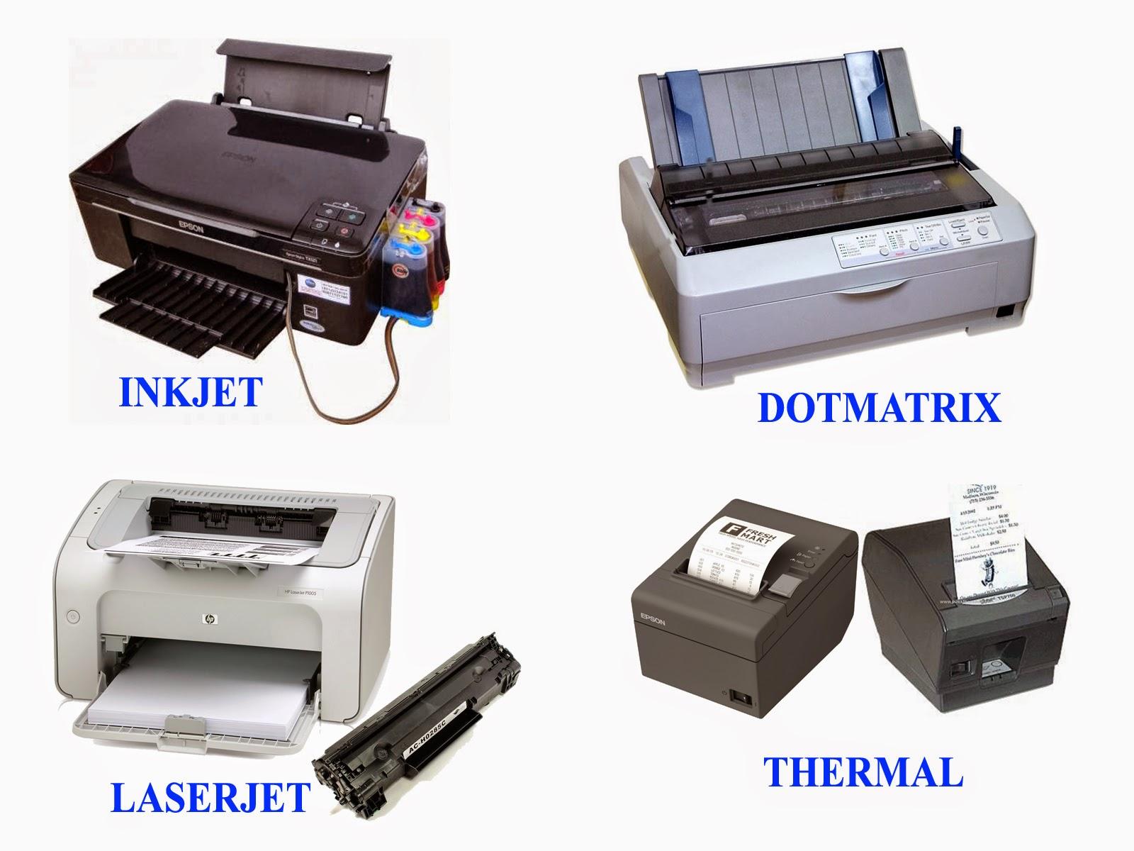 macam macam printer