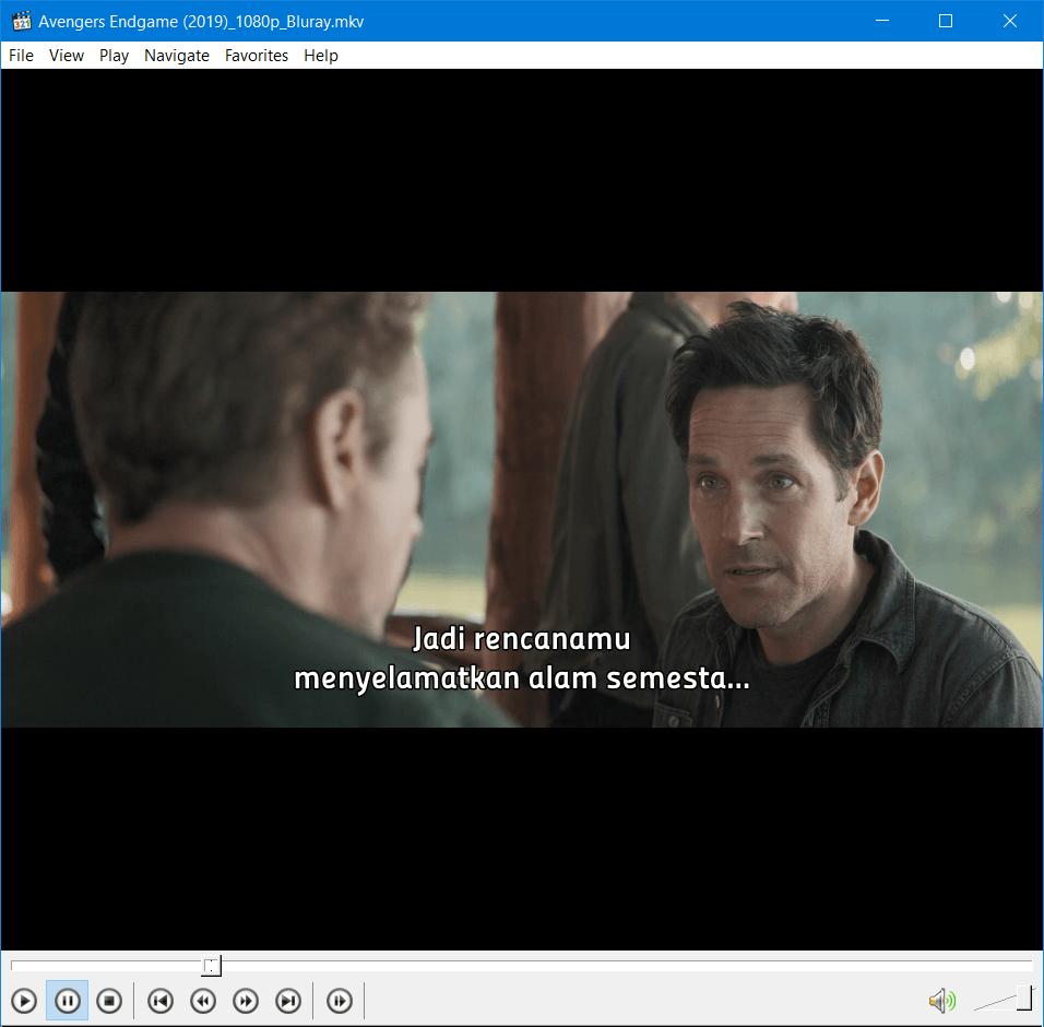 MPC - Mengatasi Subtitle Video Tidak Muncul 3