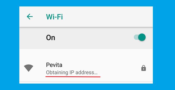 Cara Mengatasi Obtaining IP Address WiFi