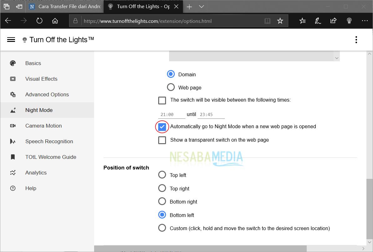 Mengaktifkan Dark Theme Microsoft Edge 10