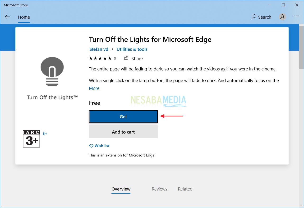 Mengaktifkan Dark Theme Microsoft Edge 6
