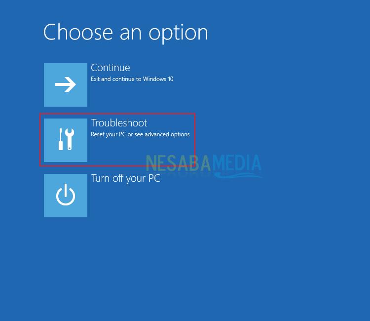 cara mengatasi windows error recovery pada pc
