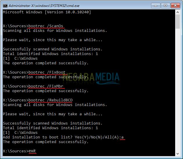 Mengatasi Windows Error Recovery Nesabamedia 6