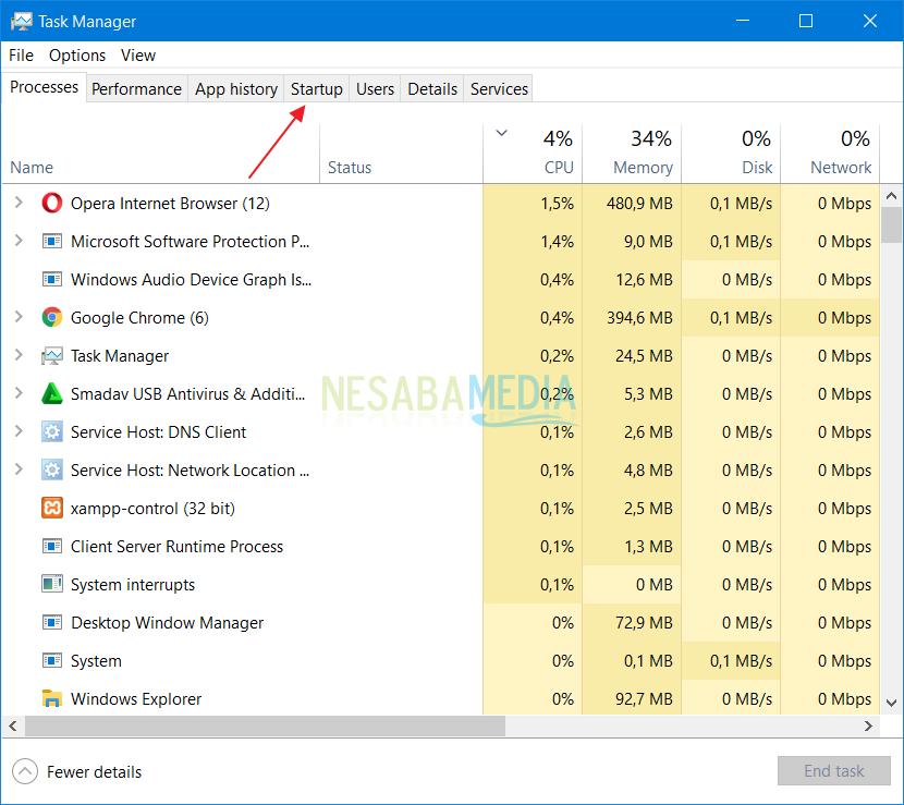 Menghapus Startup Program di Windows 2