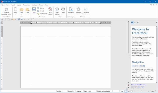 Download SoftMaker FreeOffice