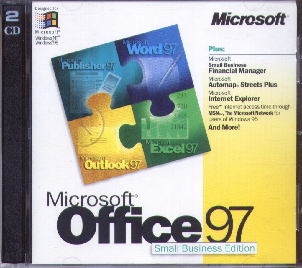 Sejarah Microsoft Office 97