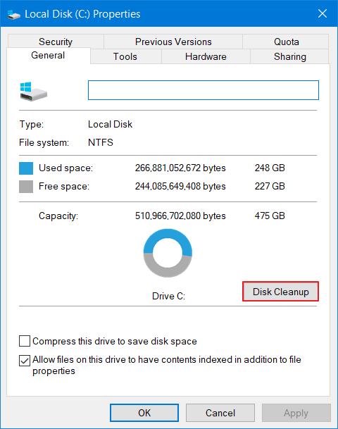 Cara Menghapus Cache di Windows 10 - System 3