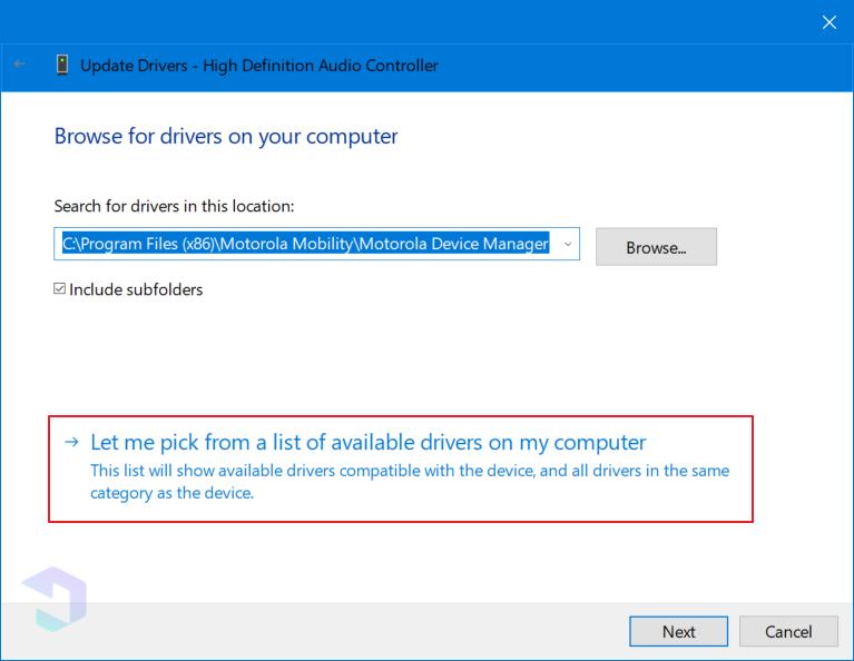Langkah B - Cara Mengatasi No Audio Output Device Is Installed 5