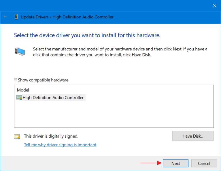 Langkah B - Cara Mengatasi No Audio Output Device Is Installed 6