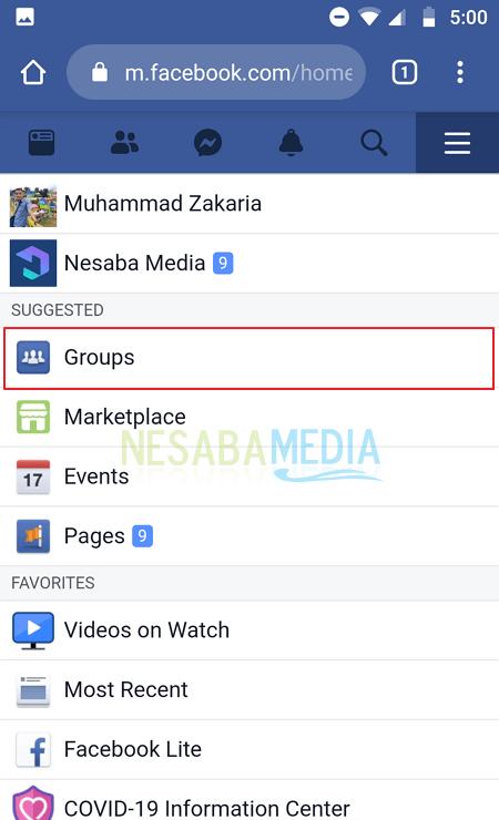 Mematikan Semua Notifikasi Grup Facebook 2