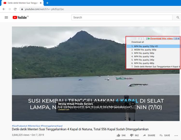 cara menampilkan tombol idm yang hilang di youtube