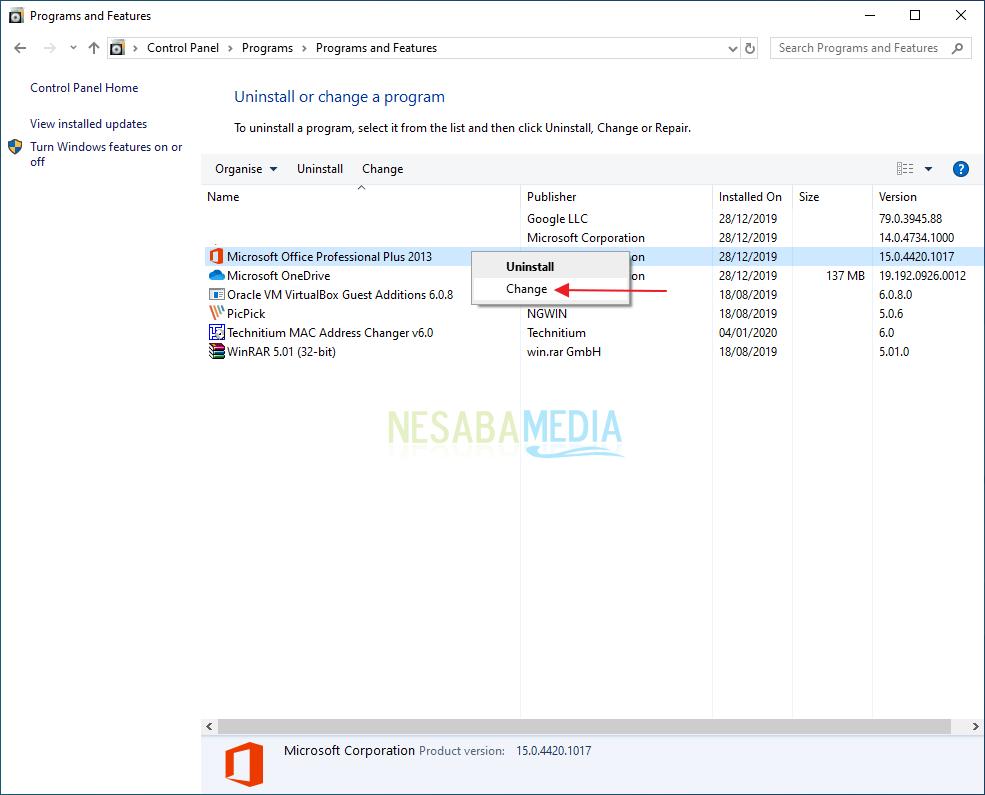 Mengatasi Microsoft Office Word Tidak Bisa Dibuka 2
