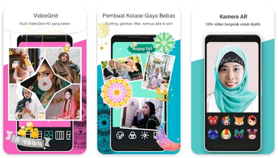 Aplikasi Penggabung Foto Photo Grid