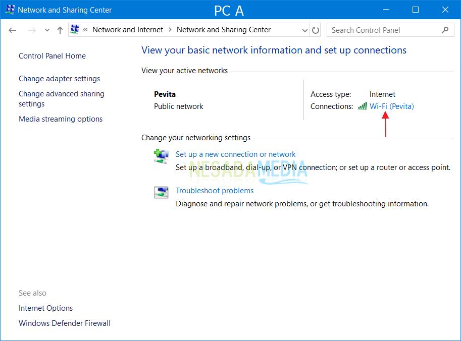 Cara Setting LAN di Windows untuk Sharing Printer