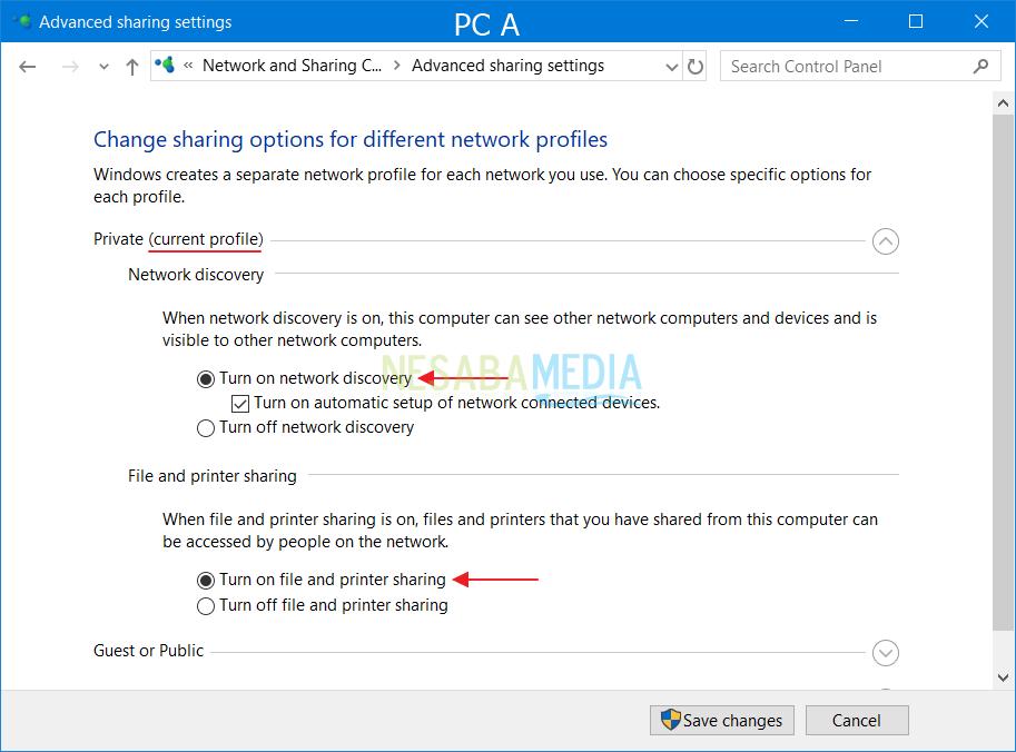 Cara Setting LAN di Windows untuk Sharing Data