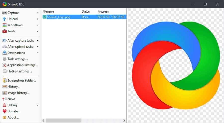 ShareX adalah Aplikasi Screenshot PC dan Laptop