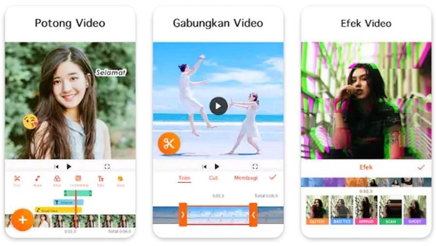 Aplikasi Edit Video untuk HP Terbaik