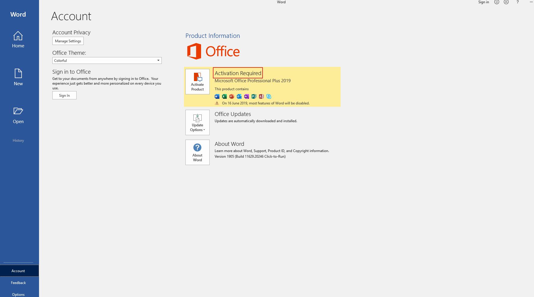 Cara Aktivasi Microsoft Office 2019 Permanen