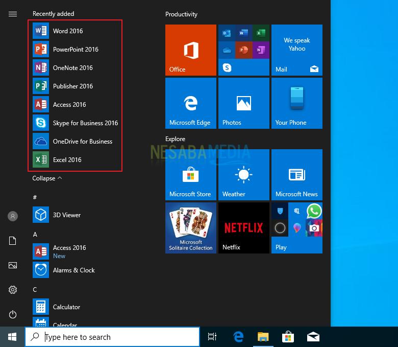 Install Microsoft Office 2016 - Step 5