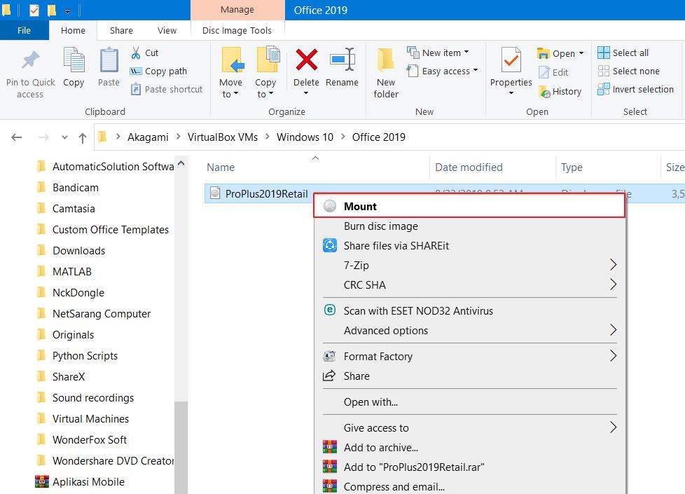 Cara Install Microsoft Office 2019 Terbaru