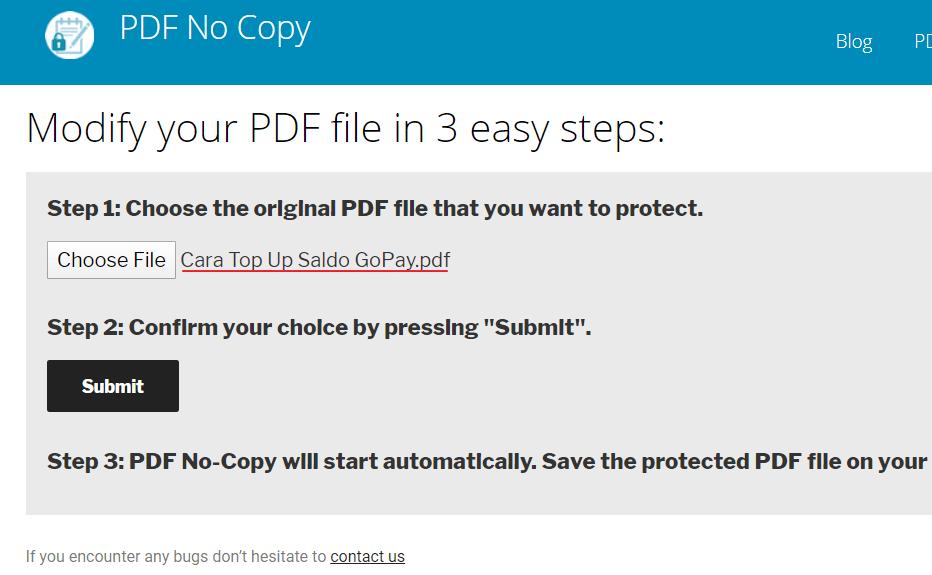 Cara Mengunci PDF Agar Tidak Bisa Dicopy Online