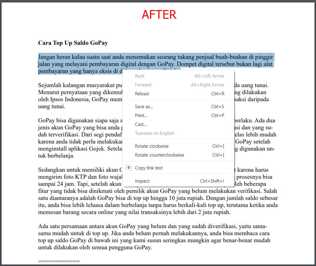 Cara Mengunci PDF Agar Tidak Bisa Dicopy Berhasil