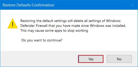 default settings 3
