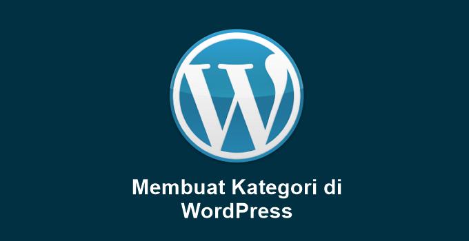 Cara Membuat Kategori di WordPress