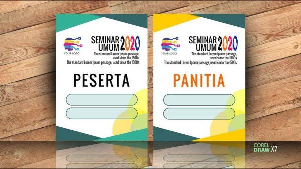 Contoh ID Card untuk Acara